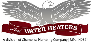 Just Water Heaters Logo